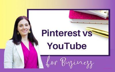 Digital Marketing Strategy for Business: Pinterest vs YouTube